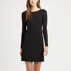 Theory Small Dress Black Bodycon Kalion Pryor